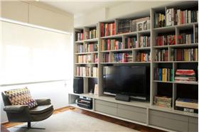 簡潔自然的電視柜設計