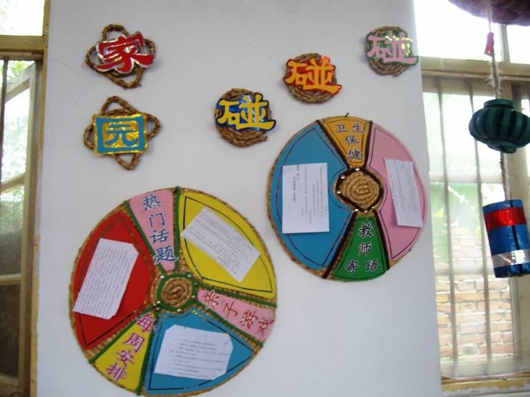 简约风格幼儿园主题墙图片