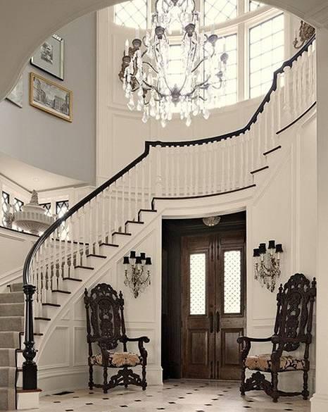 欧式风格别墅楼梯