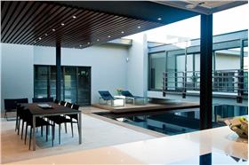 別墅內部開放空間設計圖片
