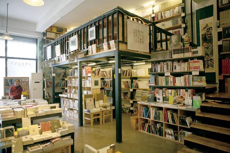 简约欧式风格书店装修图片-简约欧式风格书柜图片