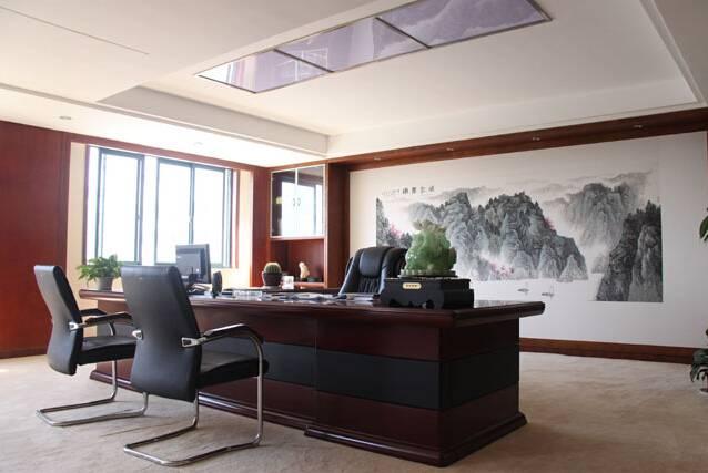 现代风格董事长办公室装修图片-现代风格办公椅图片