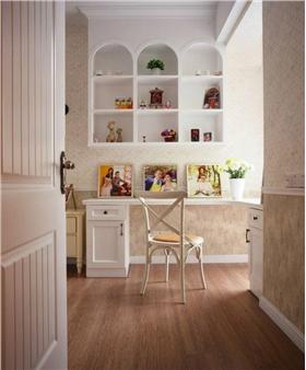 簡歐風格臥室裝飾柜