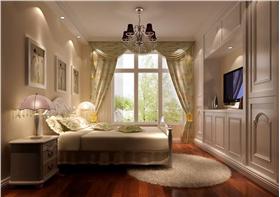 浪漫溫馨的臥室裝修效果圖