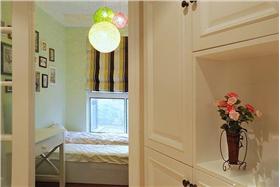 簡潔溫馨的臥室設計
