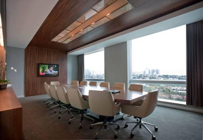 现代风格办公室窗帘设计图片-现代风格办公家具图片