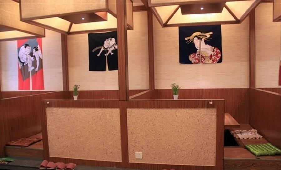 日式风格快餐店装修图片
