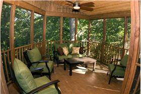 森林里的陽光房