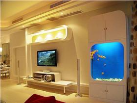 現代簡約風格電視柜圖片