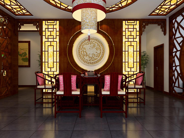 现代风格餐馆门头装修效果图 _合抱木工装效果图
