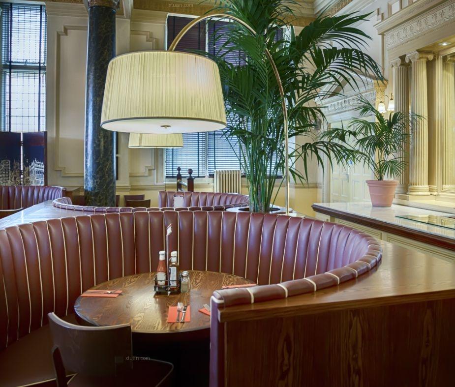 欧式咖啡馆设计装修效果图