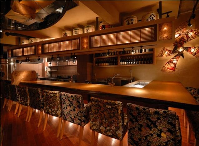 打造日式料理餐飲空間設計_裝修效果圖