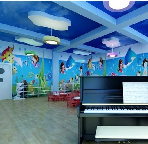 海洋世界 幼儿园环境布置图片_装修效果图
