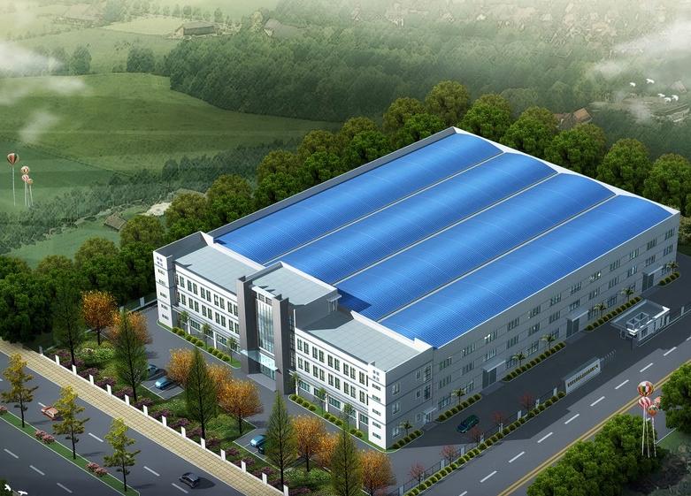 钢结构厂房图集_装修效果图