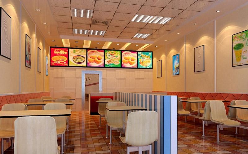 小型的快餐店设计_装修效果图