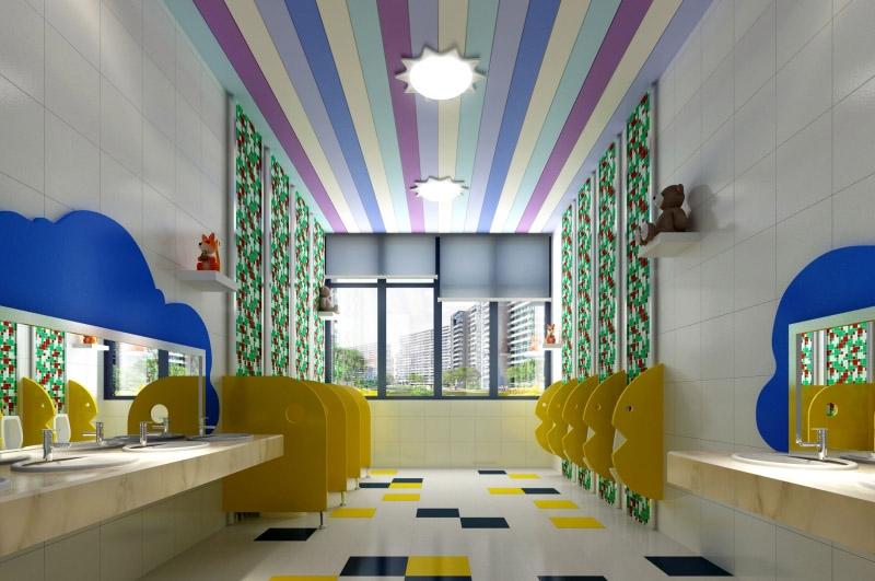 幼儿园设计效果图_装修效果图