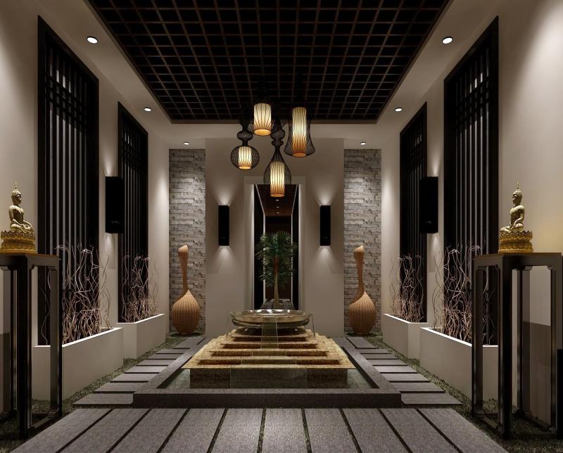 家庭台球厅装修效果图_合抱木工装效果图