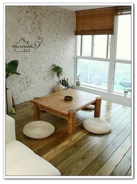 白色日式風格優雅陽臺飄窗裝修美圖
