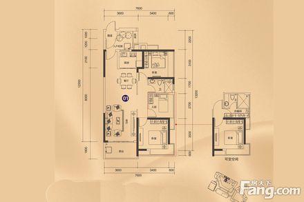 合汇中央广场-Z2栋01单元