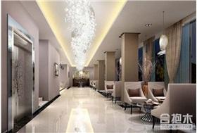 现代酒店设计效果图 5000方公装项目