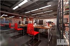 1000方办公楼设计 万达HUBG办公空间