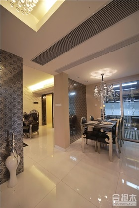 嘉俊豪苑300平米新古典风格四居室装修设计