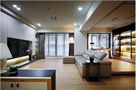 【东方华府】带着异域风情的简约空间,11万打造129平北欧风三居室