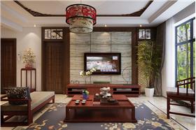 【祥云国际】139平三居,新中式让中式蒙上一层现代气息。