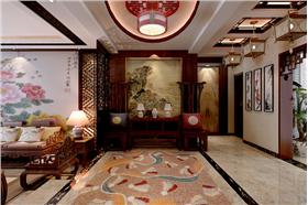 木色家具的应用——使整个家装空间古色古香意蕴流畅