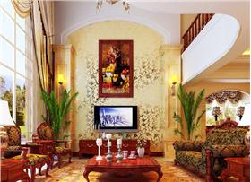奢华气派--360㎡美式古典别墅,给你一个奢华空间