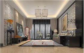 【60㎡碧春园】新中式风格两室装修效果!小空间大制作!