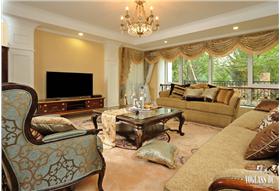 美式的装修,给你一个大气质朴的居住空间