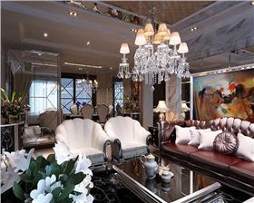 雍容华贵的新古典风住宅,96平新古典风格两室两厅