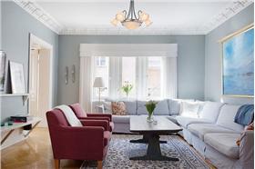 120平质感混搭公寓 时尚北欧风格