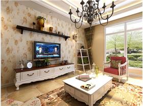 享受别致居家生活 清新典雅韩式田园风空间。