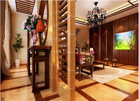 40万打造新中式别墅 传统中式元素蓬勃大气不失温馨雅致