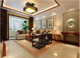 回归自然,新中式家装带你体验高品质,又不失传统的生活。