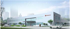 现代工业厂房效果图