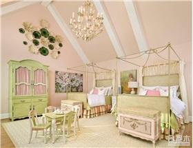 法式浪漫风格儿童房