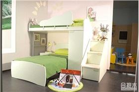 儿童房双层儿童床设计