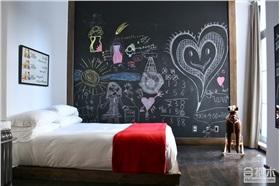 儿童房黑板墙设计