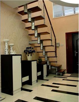 现代风格玄关楼梯