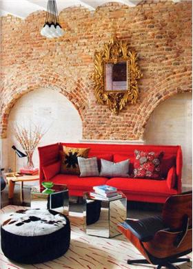 奇妙的客厅背景墙风潮