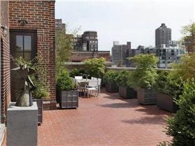 简洁自然的阳台设计