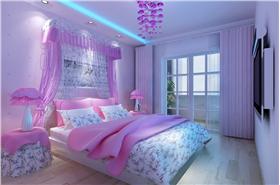 粉色浪漫卧室10bet十博娱乐app