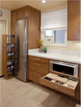 多功能现代橱柜,创造新时代的厨房空间