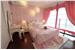 田园风格卧室粉色窗帘