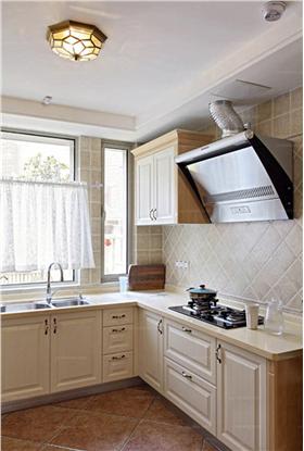 裸色系厨房橱柜