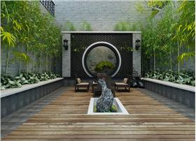 个性时尚的别墅庭院设计