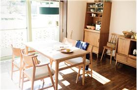 日系风格原木森系餐厅